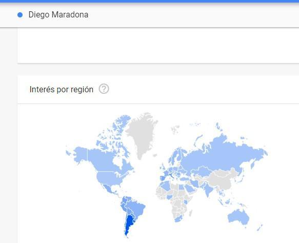 maradona google
