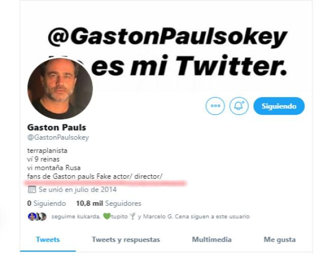 fake gaston pauls