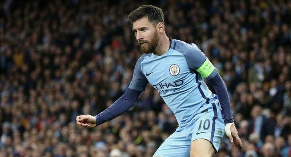 Messi con camiseta de
